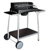 cook in garden Isy Fonte Charcoal Barbecue with Side Shelf I