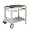 cook in garden Media Serving Trolley