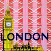 GreenBox Art Take Me Away London by Shelly Kennedy Painting Print on Wrapped Canvas