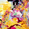 GreenBox Art Vibrant Song by Stephanie Corfee Painting Print on Wrapped Canvas