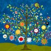 GreenBox Art Tree of Life by Caroline Blum Painting Print on Wrapped Canvas