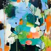 GreenBox Art Bliss Like This by Flora Bowley Painting Print on Wrapped Canvas