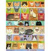 GreenBox Art Best in Show - Cats! by Donna Ingemanson Painting Print on Wrapped Canvas