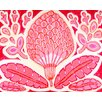 GreenBox Art Magnolia Pod by Andrew Daniel Painting Print on Wrapped Canvas