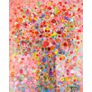 GreenBox Art Floral Bouquet by Angelo Franco Painting Print on Wrapped Canvas