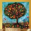 GreenBox Art Pomegranate Tree Wall Mural