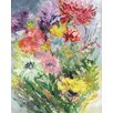 GreenBox Art 'Garden Floral V' by Shannon Newlin Painting Print on Canvas