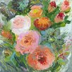 GreenBox Art 'Garden Floral VI' by Shannon Newlin Painting Print on Canvas