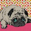 GreenBox Art 'Harriet Pugman' by Betsy Olmsted Painting Print on Canvas
