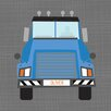 GreenBox Art Oliver Ways to Wheel Mac Truck by Vicky Barone Graphic Art