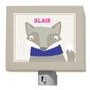 GreenBox Art Oopsy Daisy Happy Fox Blair Night Light