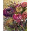 GreenBox Art 'Floral Movement II' by Shannon Newlin Painting Print on Canvas