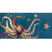 GreenBox Art 'Octopus and Starfish' by Eli Halpin Painting Print on Canvas
