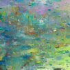 GreenBox Art 'Abstract Chi' by Todd Clark Painting Print on Canvas