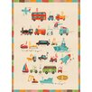 "GreenBox Art ""Transportation A to Z"" by Irene Chan Graphic Art on Canvas"