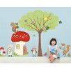 GreenBox Art Woodland Animal Friends Peel and Place by Pim Pimlada Window Sticker