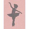 "GreenBox Art ""Ballerina Annie"" by Patti Rishforth Graphic Art on Canvas"