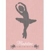 "GreenBox Art ""Ballerina Lean Personalized"" by Patti Rishforth Graphic Art on Canvas"