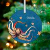 GreenBox Art Octopus and Starfish Personalized Ornament by Eli Halpin