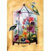 """GreenBox Art """"Floral Inspiration"""" by Shannon Newlin Graphic Art on Canvas"""