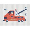 "GreenBox Art ""Little Tow Truck"" by Bob Daly Graphic Art on Canvas"
