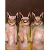 GreenBox Art 'Little Piggie' by Eli Halpin Print of Painting on Canvas