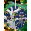 GreenBox Art Raccoon Cubs Personalized Ornament by Amy Schimler Safford