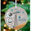 GreenBox Art B is For Boys Be Bold! Personalized Ornament by Sarah Lowe