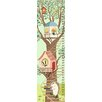 "GreenBox Art ""Woodland Tree House"" by Pim Pimlada Growth Chart"