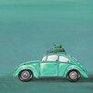 GreenBox Art 'Road Trip' by Karin Grow Painting Print on Canvas