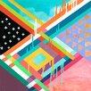 GreenBox Art 'Dreamer' by Misha Maynerick Blaise Graphic Art on Canvas