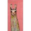 GreenBox Art 'Baby Llama' by Eli Halpin Painting Print on Canvas