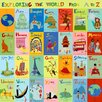 Oopsy Daisy Exploring the World From A-Z Canvas Art