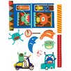 Oopsy Daisy Alien Invasion Peel and Place Wall Decal Set