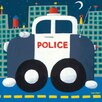 Oopsy Daisy Police Cruiser Canvas Art