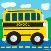 Oopsy Daisy School Bus Canvas Art