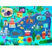 Oopsy Daisy Trip to the Zoo Canvas Art