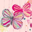 Oopsy Daisy Textured Butterflies Canvas Art