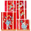 Oopsy Daisy 5 Piece Big Top Alphabet Circus Canvas Art Set