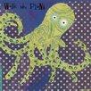 Oopsy Daisy Deep Sea Octopus Canvas Art