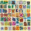 Oopsy Daisy Animal Alphabet Canvas Art