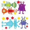 Oopsy Daisy Aliens Among Us Peel and Place Wall Decal
