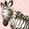 Oopsy Daisy Zoey the Zebra Canvas Art