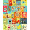 Oopsy Daisy Favorite Things Alphabet Canvas Art