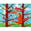 Oopsy Daisy Bear Story Hour Canvas Art