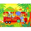 Oopsy Daisy Jungle Tours Canvas Art