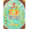 Oopsy Daisy Be Kind to Others Canvas Art