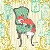 Oopsy Daisy Woodland Wonderland Fox Canvas Art