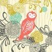 Oopsy Daisy Woodland Wonderland Owl Canvas Art