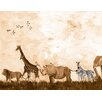 Oopsy Daisy Wild Things Sepia Canvas Art